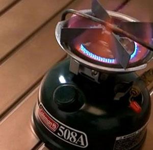 コールマンのシングルストーブの点火方法【動画】