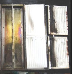 ユニフレーム ユニセラTGのメンテナンス(断熱材の交換方法)