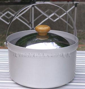 ユニフレーム ライスクッカーミニDXで飯炊きが簡単に