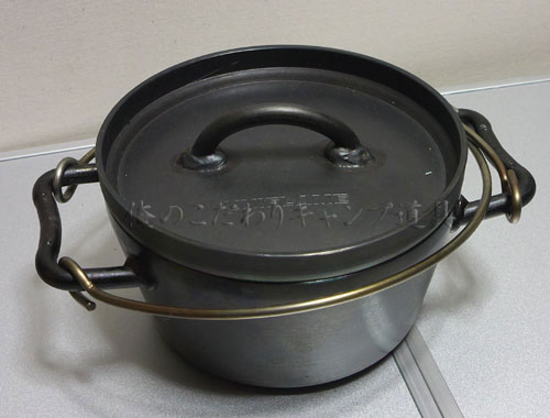 ダッチオーブン6インチは小さいけど何かと便利
