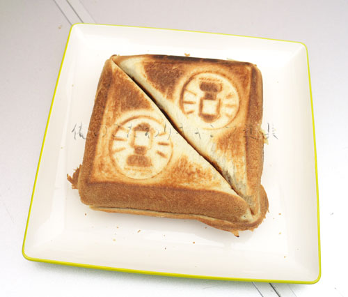 コールマンのホットサンドイッチクッカーでホットサンドを作る