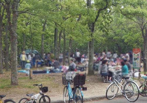 大泉緑地BBQ