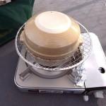 100円ショップの土鍋で燻製を作る